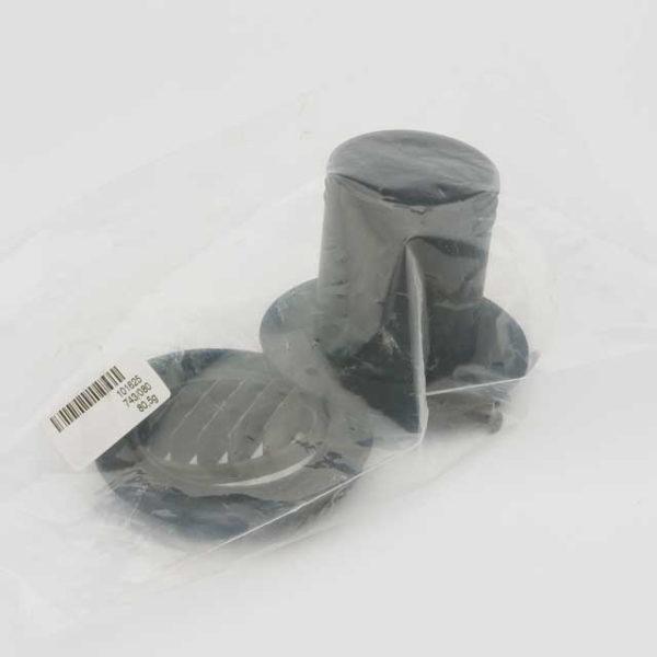 Дефлектор 55мм 90° черный