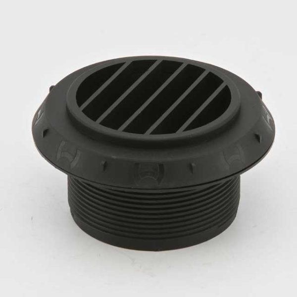 Дефлектор 60мм черный 90°