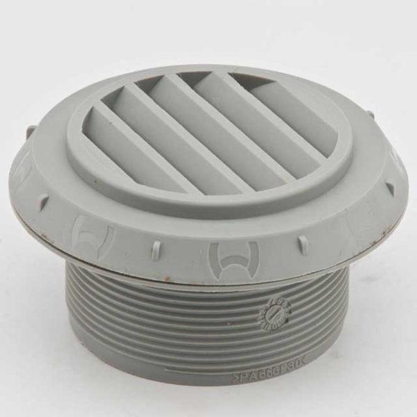 Дефлектор 60мм серый 45°