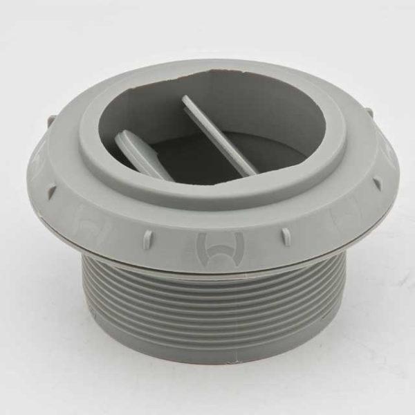 Дефлектор 60мм закрывающийся серый