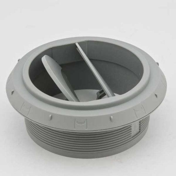 Дефлектор 90мм закрывающийся серый