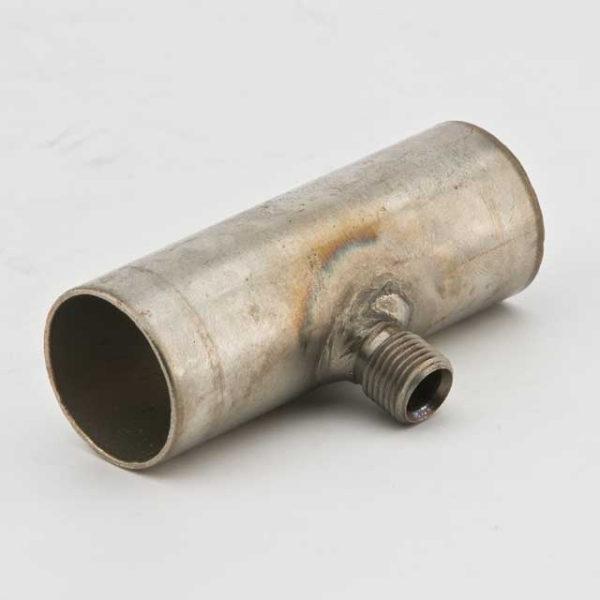 Соединитель выхлопной трубы с отводом конденсата 24мм