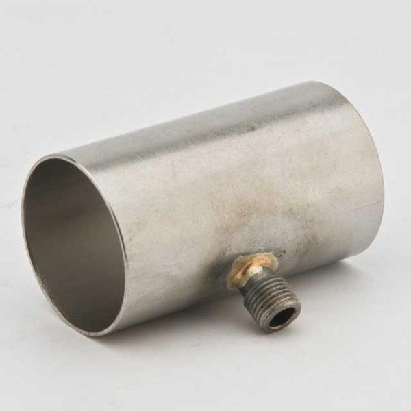 Соединитель выхлопной трубы с отводом конденсата 38мм