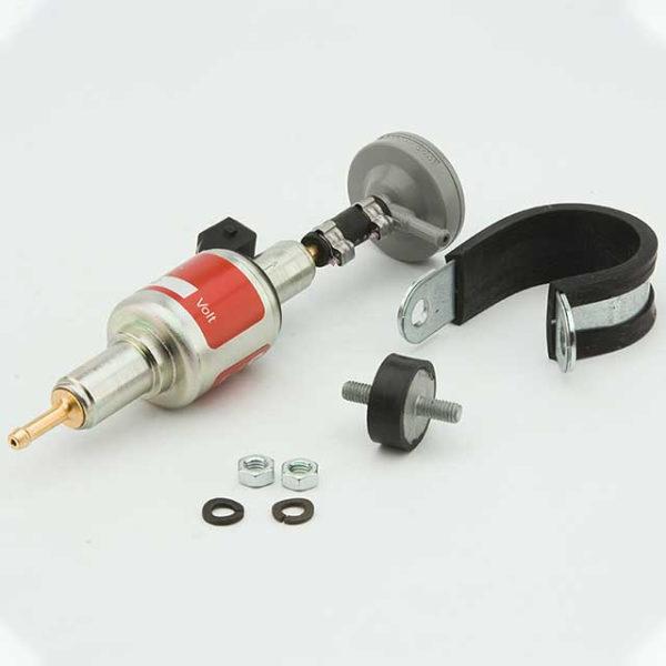 Топливный насос Вебасто DP30 12В с демпфером установочный комплект