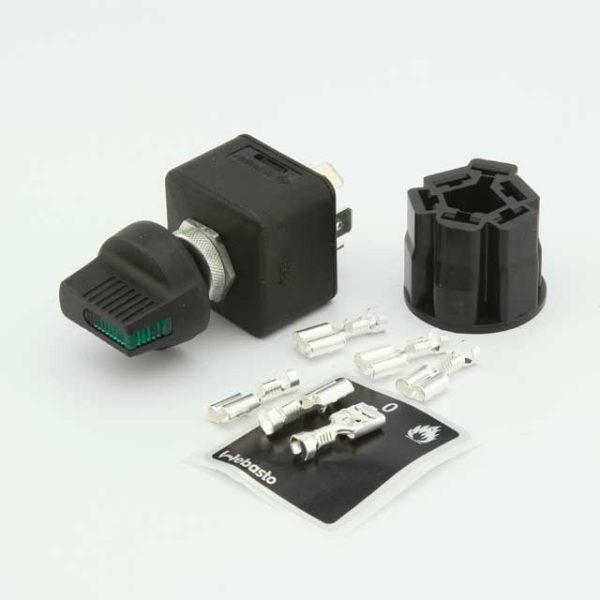 Выключатель отопителя с индикатором 12В