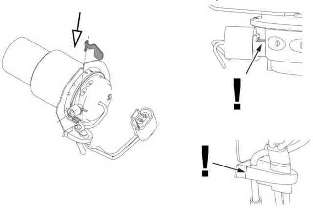 Рис. 911 Установите ребро охлаждения штифта накала
