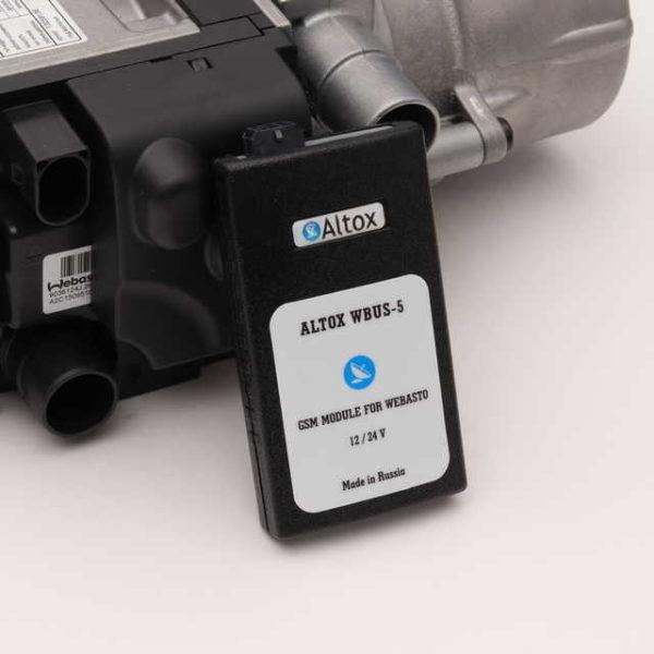 Webasto Thermo Top EVO Comfort+ дизель с GSM модулем Altox W-BUS 5 комплект