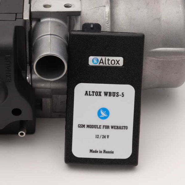 Webasto Thermo Top EVO Start бензин с GSM модулем Altox W-BUS 5 комплект