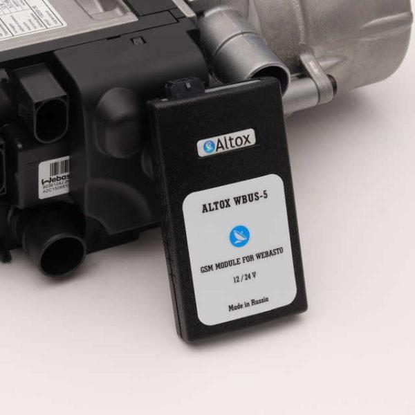 Webasto Thermo Top EVO Start дизель с GSM модулем Altox W-BUS 5 комплект